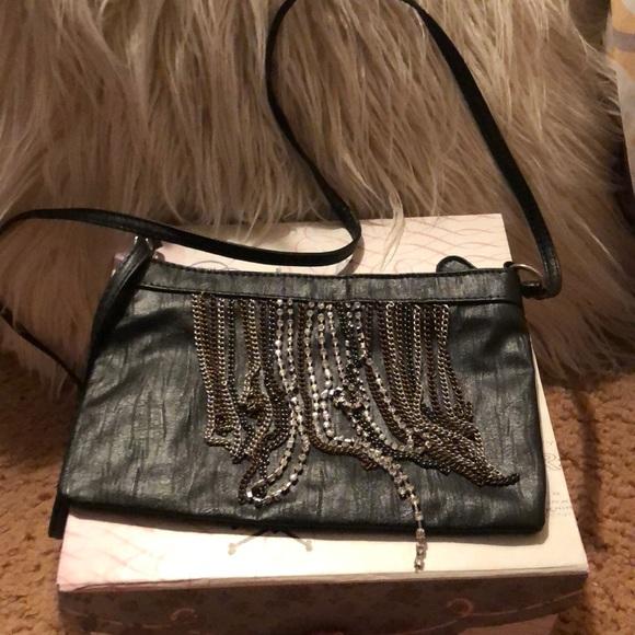 Handbags - Xhilaration going out bag with rhinestone fringes.